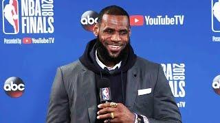 LeBron James Postgame Interview - Game 2 | Cavaliers vs Warriors | June 3, 2018 | 2018 NBA Finals