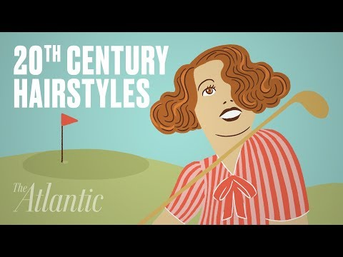 Animated History of 20th Century Hairstyles