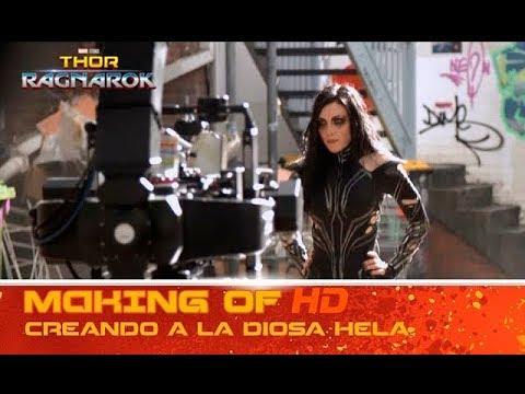 Thor: Ragnarok de Marvel | Making of: creando a la diosa Hela | HD