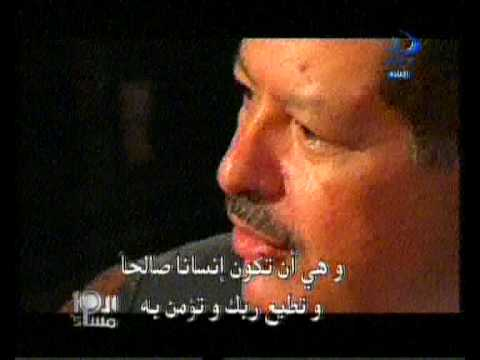 Noble scientist Ahmed Zewail  defends  islam