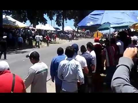 HUAMANTLA - Huamantla Accidente carrera de carcachas 2014.
