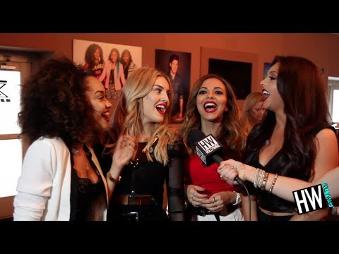 exclusive - Little Mix Talk 'Salute' & Sing 'Wings' In Japanese! (EXCLUSIVE INTERVIEW) Subscribe to Hollywire | http://bit.ly/Sub2HotMinute Send Chelsea a Tweet! | http:...