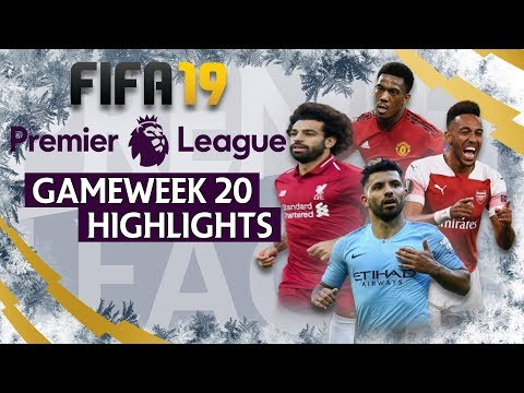 Liverpool Vs Arsenal | FIFA 19 Premier League Gameweek 20 Highlights