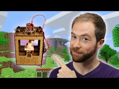 Will Minecraft and Makerbot Usher in the Post-Scarcity Economy?   Idea Channel   PBS Digital Studios