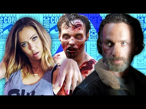 be - See new footage of Season 5 of THE WALKING DEAD, THE LAST OF US movie news, Matt Winston talks puppets, CM Punk makes new friends & more on Nerdist News with Jessica Chobot at San Diego Internation...