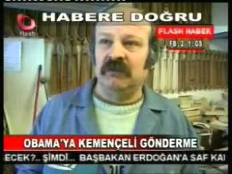 Flash TV Obama'ya Kemençe