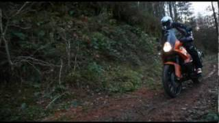 4. KTM 990 Adventure goes off-road!