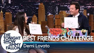 Video Best Friends Challenge with Demi Lovato MP3, 3GP, MP4, WEBM, AVI, FLV Juli 2018