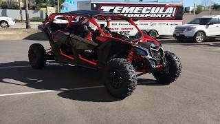5. 2018 CAN-AM MAVERICK X3 MAX XRS TURBO R SL C001001