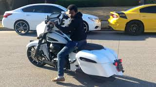 7. I dropped the 2019 Indian Chieftain Dark Horse