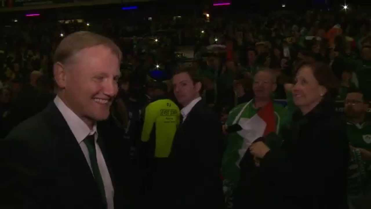 Irish Rugby TV: Joe Schmidt On Being Crowned Six Nations Champions