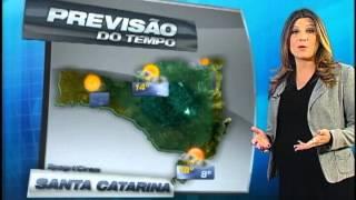 Florianópolis - Geada em Campos Novos