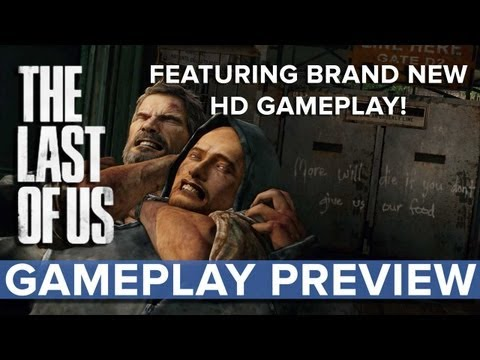 Us - The Last of Us - Gameplay Preview - Eurogamer Our YouTube Editor Ian got his lucky little hands on a beta demo of The Last of Us and in this gameplay preview...