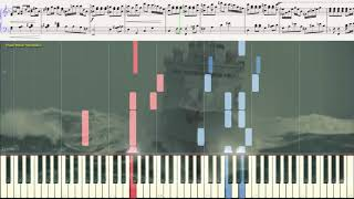 "Увертюра - кф ""Дети капитана Гранта"" (Ноты и Видеоурок для фортепиано) (piano cover)"