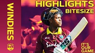 Windies vs England 3rd IT20 2019 | Bitesize Highlights