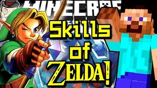 Minecraft ZELDA SKILLS! Hyrule Items, Masks, Secrets, Navi&More!