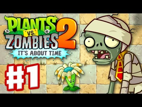 pvz - Thanks for every Like and Favorite! They really help! This is Part 1 of the Plants vs Zombies 2: It's About Time Gameplay Walkthrough for the iPad! It includ...