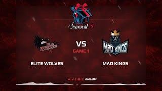 Elite Wolves против Mad Kings, Первая карта, Квалификация на Dota Summit 8