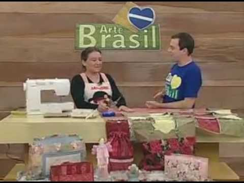 ARTE BRASIL - ELIANA ZERBINATTI - MANTA DE FLANELA RAG QUILT (01/06/2011 - Parte 1 de 2)