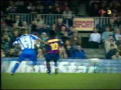 Las más grandes jugadas de Ronaldinho en el Barcelona