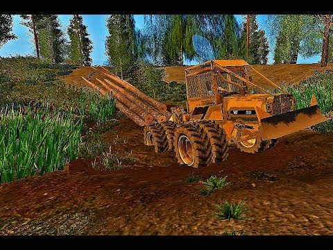 IMT 5131 winch skidder v1.0