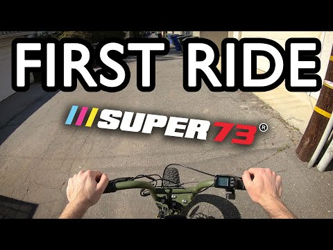 Super73 Electric Bike First Ride And Impressions