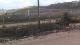Metula Israel  city pictures gallery : Lebanese border from Metula, Israel