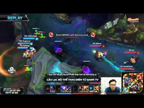 LCS EU 2015 mùa hè (W1D2) - FNATIC vs SK GAMING - 30/05/2015