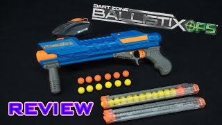 Dart Zone Powerball on Amazon (eventually): http://amzn.to/2sjDloTReview of the Dart Zone Ballistix OPS Powerball. This blaster is a spring powered, pump action blaster that is compatible with Nerf Rival rounds and Rival magazines!- - - - - - - - - - - - - - - - - - - - - - - - - - - - - -