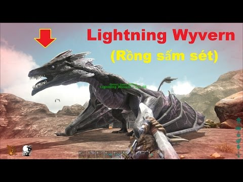 ARK: Scorched Earth #16 - Thuần hoá Rồng sấm sét Lightning Wyvern =)) - Thời lượng: 34:39.