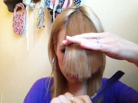 Cut Perfect Side-Swept Bangs ★