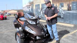 8. Can-Am Spyder RT Limited in Lava Bronze Metallic