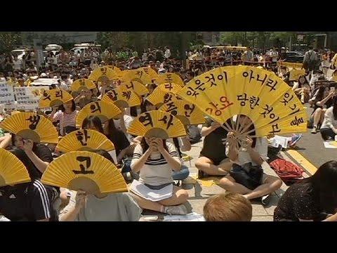Νότια Κορέα: Οι «σκλάβες του σεξ» ζητούν δικαίωση από την Ιαπωνία