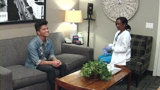 For her classic hidden camera prank, Ellen sent a nurse into Bruno Mars' dressing room for a medical session she'll never forget!