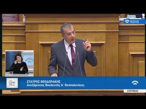 Σ.Θεοδωράκης(Ανεξάρτητος)(Προσχώρηση της Δημοκρατίας της Βόρειας Μακεδονίας στο ΝΑΤΟ)(08/02/2019)