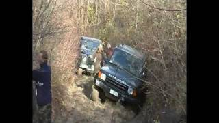 Land Rover Discovery II In The Mud