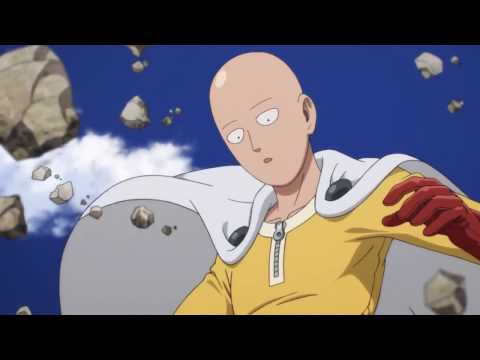 Saitama vs Genos Fight | One Punch Man (60FPS) (видео)
