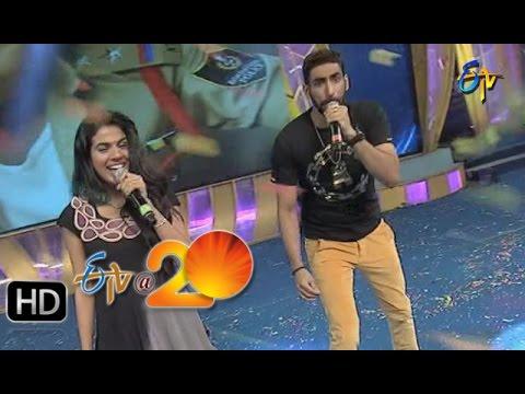 Karunya-Sravana-Bhargavi-Performance--Kevvu-Keka-Song-in-Gunturu-ETV-20-Celebrations