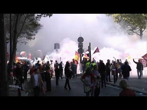 Γαλλία: Νέος γύρος διαδηλώσεων κατά των μεταρρυθμίσεων Μακρόν