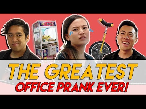 THE GREATEST OFFICE PRANK WITH TMALL PRODUCTS + GIVEAWAY! | TSL Vlogs