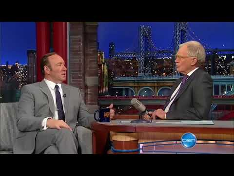 The amazing Kevin Spacey Interview with David Letterman   Must Watch