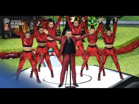 AMAZING!!!OPENING CEREMONY FIFA WORLD CUP 2018 RUSSIA WITH ROBBIE WILLIAMS