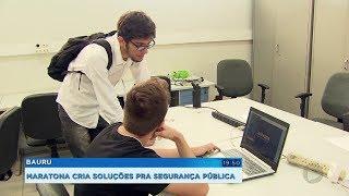 Estudantes da Unesp fazem maratona para criar soluções para segurança pública
