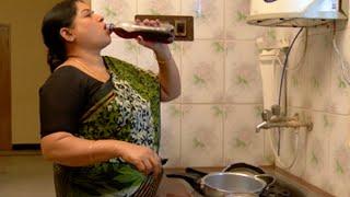 XxX Hot Indian SeX Deivam Athai Gulps Alcohol .3gp mp4 Tamil Video