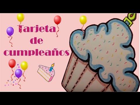 Tarjetas de cumpleaños - Tarjeta de Cumpleaños FACIL
