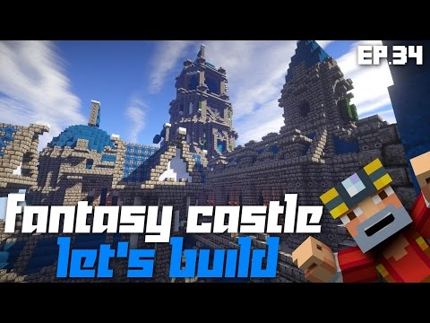 Minecraft Xbox 360: Let's Build a Fantasy Castle! Ep.34