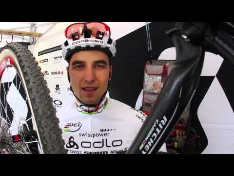 World Champion Nino Schurter on Ritchey Vector Evo