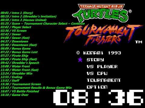 teenage mutant ninja turtles tournament fighters nes rom
