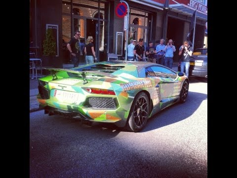 Gumball 3000 – Nasser Althani's Lamborghini LP760-4 REVS