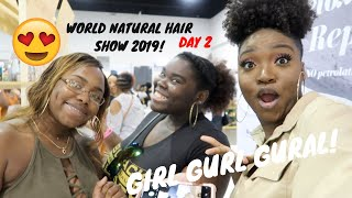 Video World Natural Hair Show 2019 Day 2 | Vlog MP3, 3GP, MP4, WEBM, AVI, FLV Agustus 2019